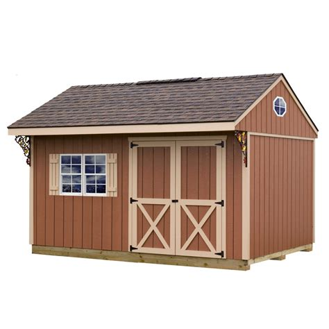Best Wood For Shed Floor by Shop Best Barns Northwood With Floor Gable Engineered Wood