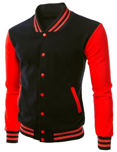 Jaket Varsity Navy Abu Muda Jaket Baseball Size M Xl s varsity letterman jacket blackred m apparel in the