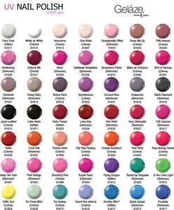 essie color chart china glaze gelaze images frompo