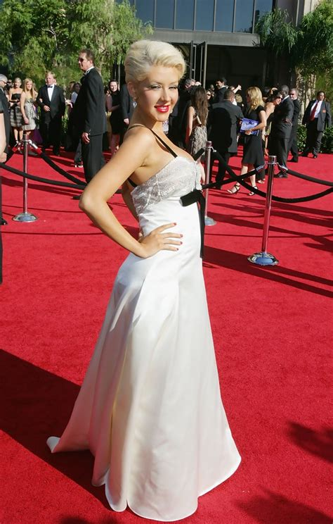 59th Emmy Awards Carpet The Desperate by Aguilera Photos Photos At The 59th