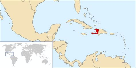 world map haiti location a pact with the the united states and the fate of