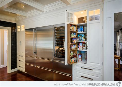 modern kitchen pantry designs 15 classic to modern kitchen pantry ideas home design lover