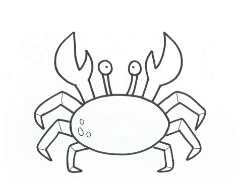 crab colors free printable crab coloring pages for animal place