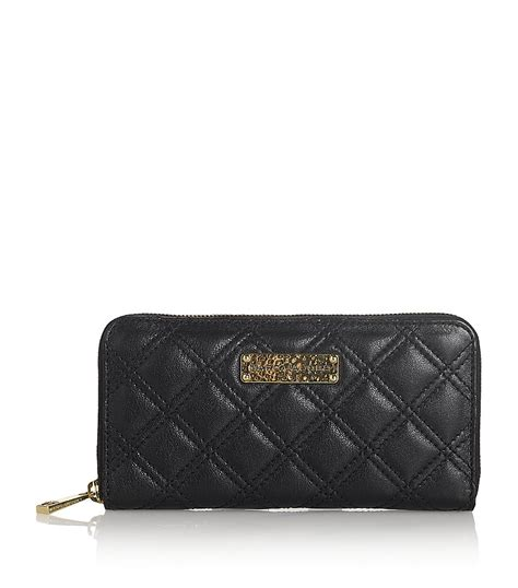 Marc Mix Quilted Classic Coin Pouch by Marc The Deluxe Quilted Wallet In Black Lyst