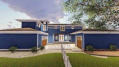 plan w16817wg prairie style home with porte cochere e prairie style house plan with porte cochere 62561dj