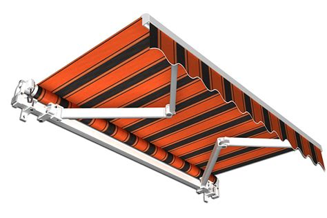 markise dachsparrenhalter stabile aluminium markise alu gelenkarmmarkise