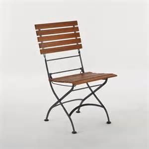 wood metal folding chair around the house