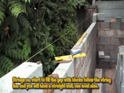 build  concrete block shed youtube