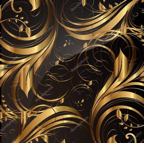 gold pattern for illustrator seamless wallpaper pattern gold vector stock vector