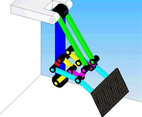 mechanical engineering mechanical animations damper engine pedastal   motions