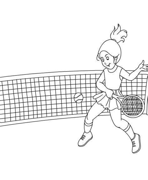 dibujos de niños jugando tenis dibujos para pintar de tenis dibujos para colorear de tenis