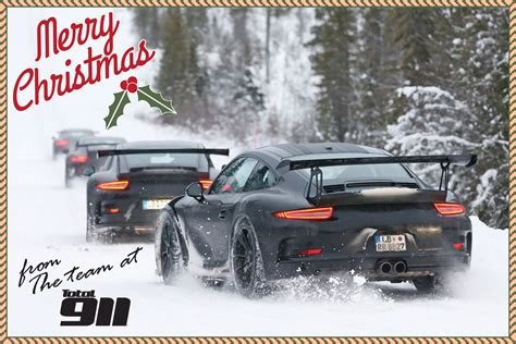 porsche with christmas merry christmas from total 911 total 911
