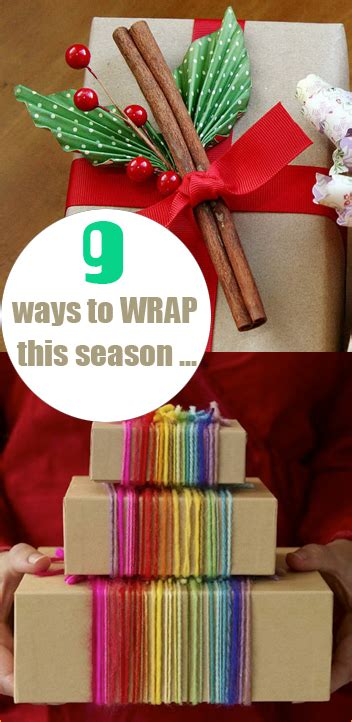 creative ways to wrap christmas gifts gift wrap s ideas
