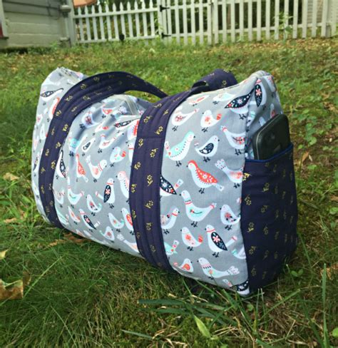 free pattern overnight bag free overnight duffel bag pattern updated the stitching