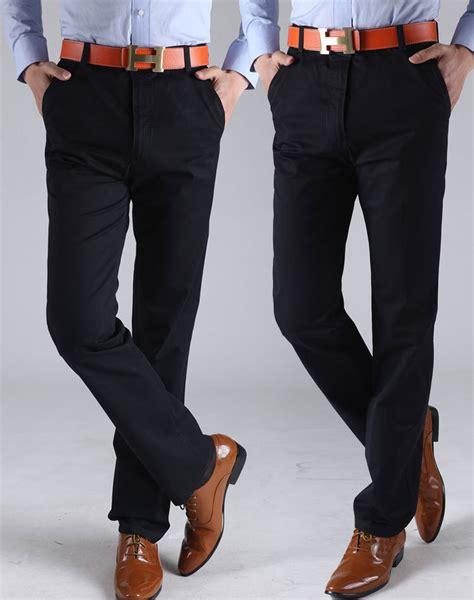 comfortable trousers for men new fashion pants men business cotton pants comfortable