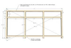 kitchen cabinet frame plans woodplans