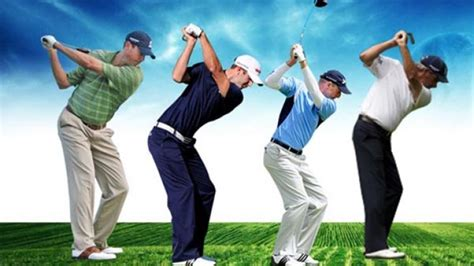 different golf swings golf is not one swing fits all or is it