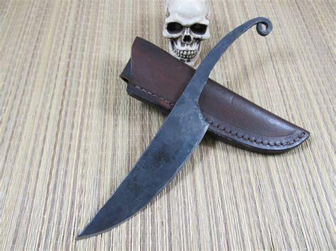 Handmade Forged Knives - custom handmade knives blades by custom knife makers