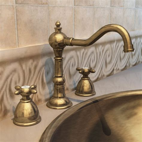china faucet antique gold plated faucet handle