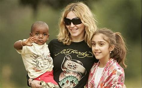 Madonna And Adopted David by Madonna Applies To Adopt Second Child From Malawi
