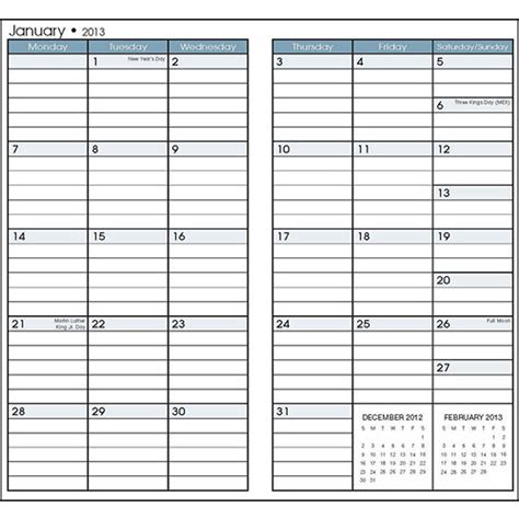 free printable pocket planner 2015 6 best images of free printable pocket calendars 2015