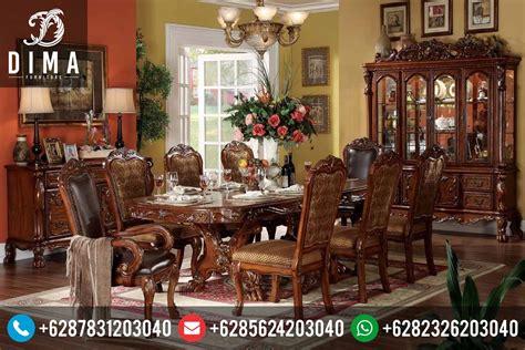 Meja Makan Mewah dining room set home zone set meja makan luxury mewah minimalis duco jepara mm traditional