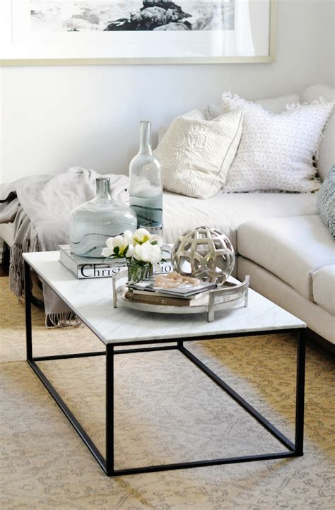 how to style a coffee table my very best tricks for styling your coffee table lark linen