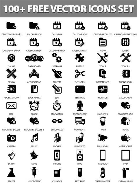 design icon free vector 25 free vector icons pack for web and graphic designers