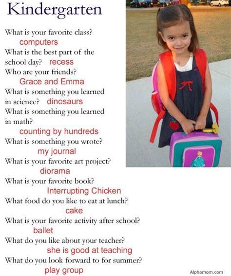 interview q a kindergarten teacher interview questions and answers
