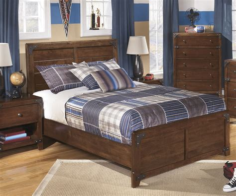 boys full size bedroom set ashley furniture delburne full size panel bed boys