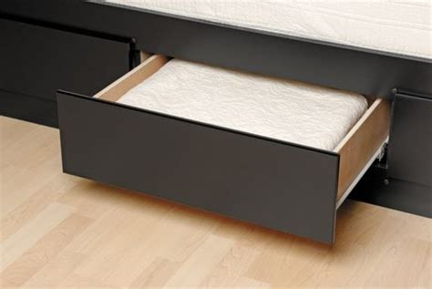 prepac queen platform storage bed with 6 drawers prepac coal harbor collection queen mates black platform