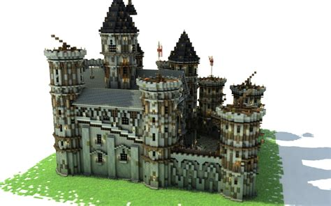 build a small castle how to build a castle tutorial minecraft building inc