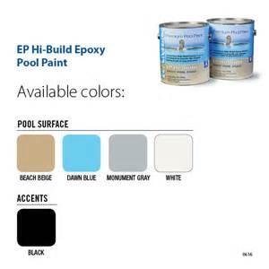 pool paint colors ep hi build epoxy