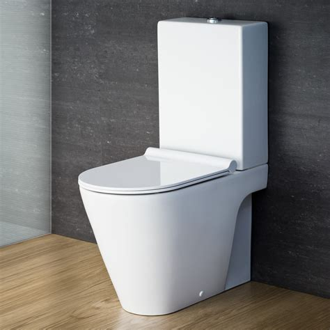 designer toilets catalano zero monobloc toilet suite with slim seat
