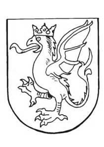 escudo alimenticio para pintar kleurplaat wapenschild afb 9082