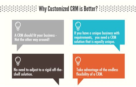 better crm why a customized crm is better for you