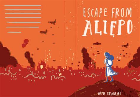 escape from aleppo books escape from aleppo on pantone canvas gallery
