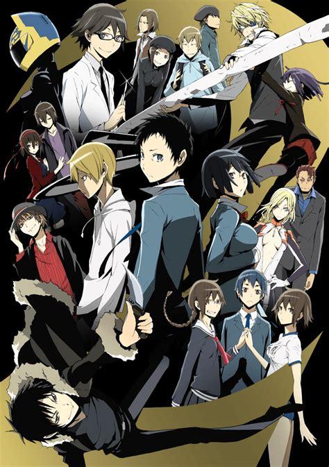 C Anime Season 2 by Key Visual Durarara Season 2 Durararax2 Durarara 2