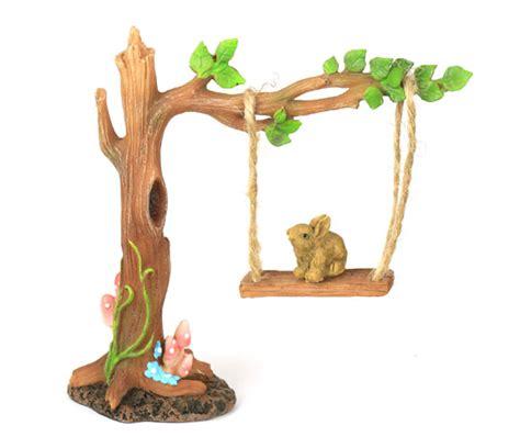 tree swing accessories tree swing fairy garden accessory fairy swing