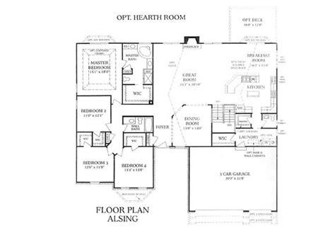 3 bedroom ranch floor plan awakenedmmo org