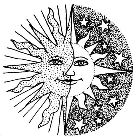 half sun coloring page moon half sun coloring pages coloring pages