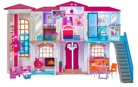 barbie dream house dolls house playset amazon com barbie hello dreamhouse toys games