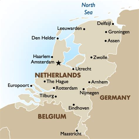 map netherlands germany netherlands vacations tours travel packages 2018 19