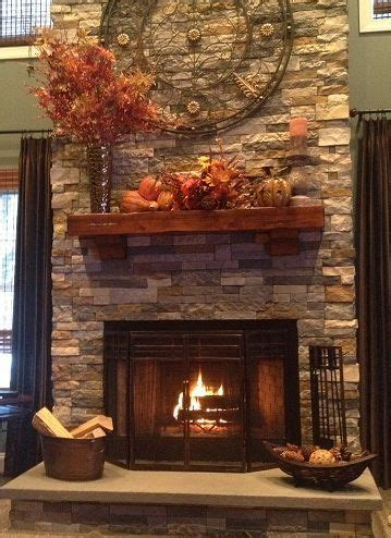 gas fireplace color airstone available at lowes this is a mix of the creek and autumn mountain colors for
