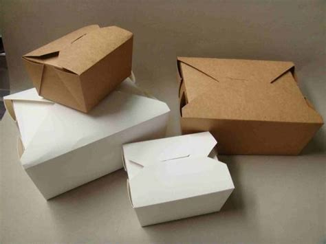 Boxes Out Of Paper - kraft take away box ningbo judin packaging products co ltd