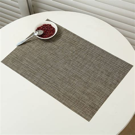 Dining Table Place Mats Pvc Insulation Bowl Tableware Placemat Place Mat Coaster