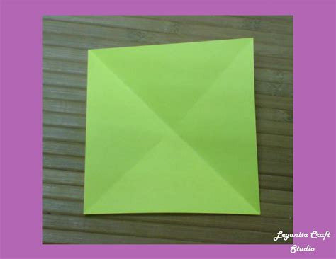 tutorial bunga kertas tulip tutorial origami bunga tulip leyanita craft studio