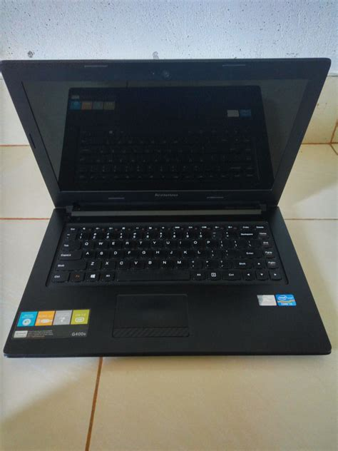 Laptop Lenovo Second G400 jual lenovo g400s bekas laptop lenovo harga spesifikasi