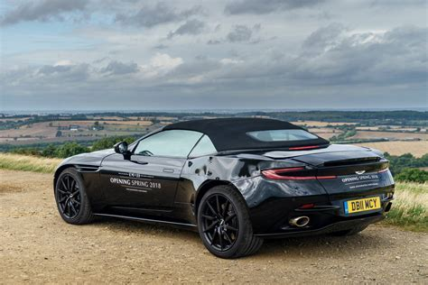 aston martib 2018 aston martin db11 volante revealed in new photos
