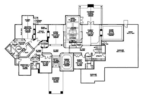 house plans with in suite milbrandt ranch home plan 043d 0068 house plans and more